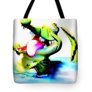 The Croco Tote Bag