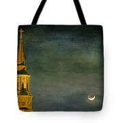 The Cross And The Crescent Tote Bag