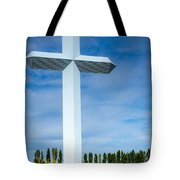 The Cross At Effingham Illinois Tote Bag