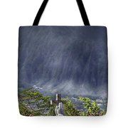 The Cross Tote Bag by Douglas Barnard