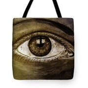 The Cross Eye Tote Bag