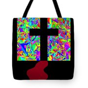 The Cross In Fauvism Tote Bag
