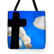 The Cross Of Christ Tote Bag