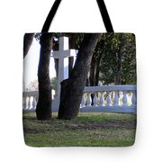 The Cross Through The Trees Tote Bag