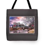 The Crossing II Brenton Woods Nh Tote Bag