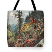 The Crossing Of The Alps, Illustration Tote Bag