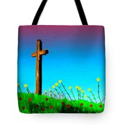 The Crossn The Field Tote Bag