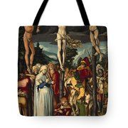 The Crucifixion Of Christ Tote Bag