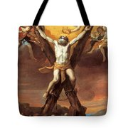 The Crucifixion Of St Andrew Tote Bag