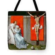 The Crucifixion With The Virgin And Saint John The Evangelist Mourning Tote Bag