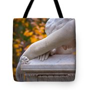 The Crying Angel Tote Bag