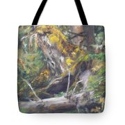 The Crying Log Tote Bag