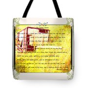 The Cubby House Tote Bag