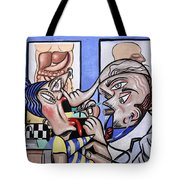 The Cubist Doctor Md Tote Bag