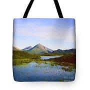 The Cuillin Hills Of Skye In The Western Isles Tote Bag