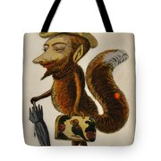 The Cunning Fox Tote Bag