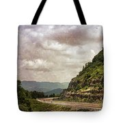 The Curve Blue Ridge Parkway Tote Bag