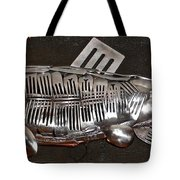 The Cutlery Fish Tote Bag