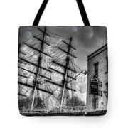 The Cutty Sark And Gipsy Moth Pub Greenwich Tote Bag