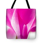 The Cyclamen That Fought Back Tote Bag