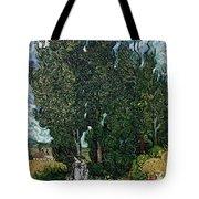 The Cypresses Tote Bag