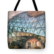 The Dali Museum St Petersburg Tote Bag by Mal Bray