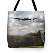 The Dambusters Over The Derwent Tote Bag