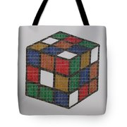 The Dammed Cube Tote Bag