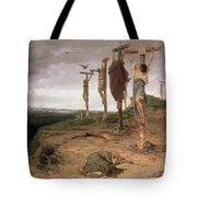 The Damned Field Execution Place In The Roman Empire Tote Bag
