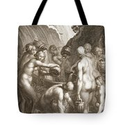 The Danaids Condemned To Fill Bored Tote Bag
