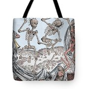 The Dance Of Death Tote Bag