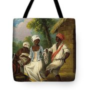 The Dance Of The Handkerchief Tote Bag