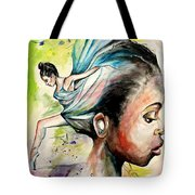 The Dancer In Me Tote Bag