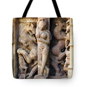 The Dancer In Stone Tote Bag by C H Apperson