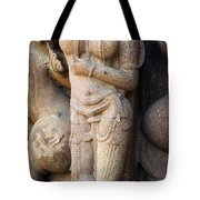 The Dancer In Stone Cropped Tote Bag