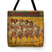 The Dancing Chicks Tote Bag