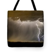 The Dancing Couple - Lightning 10 Tote Bag