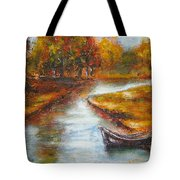 The Danube Delta  Tote Bag by Elena  Constantinescu