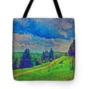 The Dark Hills Tote Bag by Michelle Greene Wheeler