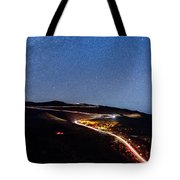 The Dark Mountain Tote Bag