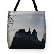 The Dark Side Of The Castle Tote Bag
