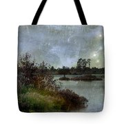 The Darker The Night Tote Bag