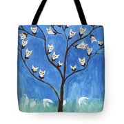The Darling Buds Of February Tote Bag