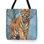 The Dartmoor Tiger Tote Bag by David Stribbling