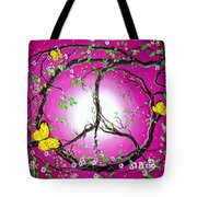 The Dawn Of Peace Tote Bag
