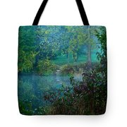 The Dawn Of Tranquility Tote Bag