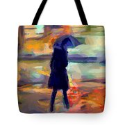 The Day For An Umbrella Tote Bag