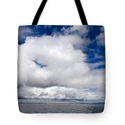 Cloudscape Over Lake Titicaca Peru Tote Bag