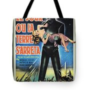 The Day The Earth Stood Still Vintage Poster Tote Bag