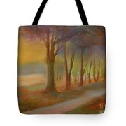 The Day Will  End Tote Bag
